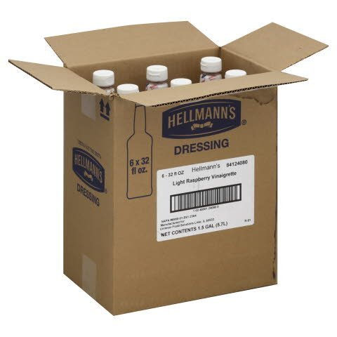 Hellmann's® Light Raspberry Vinaigrette Salad Bar Bottles - 10048001240800