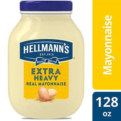 Hellmann's® Mayonnaise Gallon Extra Heavy 1 gallon, Pack of 4