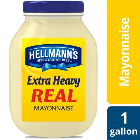 Hellmann's® Mayonnaise Gallon Extra Heavy 128 ounces, Pack of 4