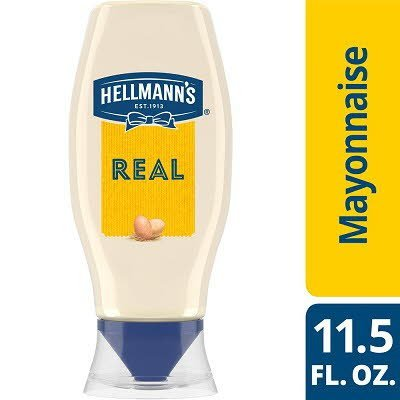Hellmann's® Mayonnaise Squeeze Bottle Real 11.5 ounces, 12 count