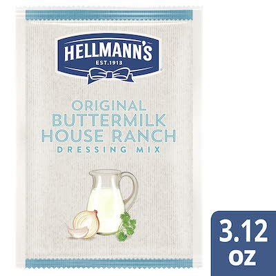 Hellmann's® Original Buttermilk House Dressing Dry Mix 12 x 3.12 oz -