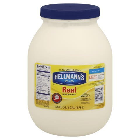 Hellmann's® Real Mayonnaise, Display Ready Pallet 1 gallon, pack of 96 -