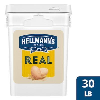 Hellmann's® Real Mayonnaise Pail 4 gallon, pack of 1 -