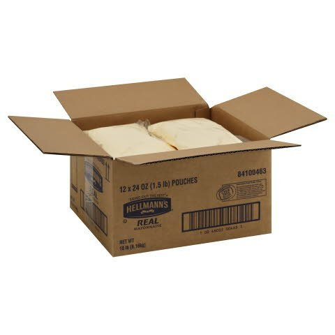 Hellmann's® Real Mayonnaise, Pouch - 10048001004631