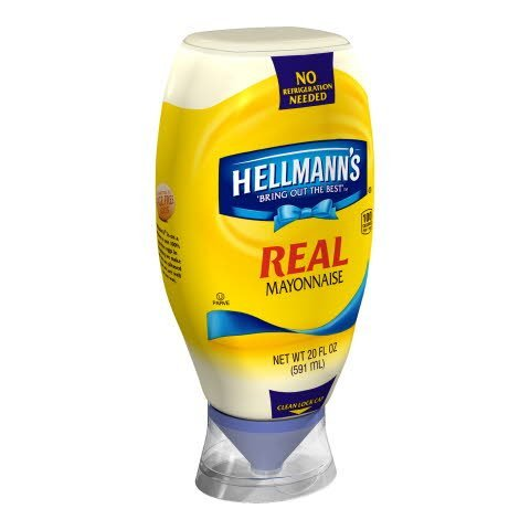 Hellmann's® Real Mayonnaise-Squeeze Bottles - 10048001356969