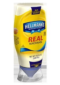 Hellmann's® Real Mayonnaise-Squeeze Bottles - 10048001370491