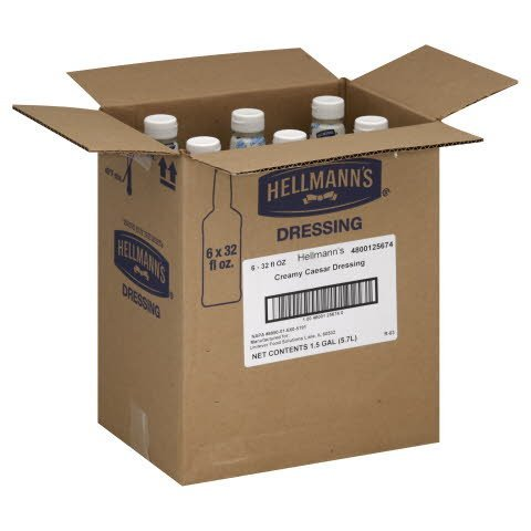 Hellmann's®  Salad Bar Bottles Creamy Caesar 192 ounces