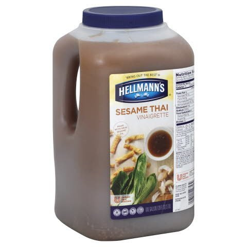 Hellmann's® Salad Dressing Jug Sesame Thai Vinaigrette 1 gallon, 2 count