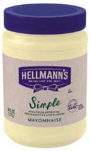 Hellmann's Simple Mayonnaise - 10048001675312