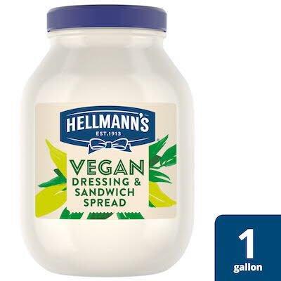 Hellmann's® Vegan Mayo 1 gallon, pack of 4 -