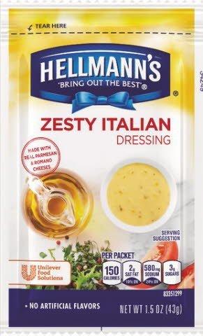 Hellmann's® Zesty Italian, pouches
