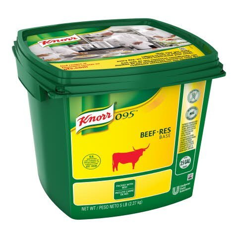 Knorr® 095 Beef Base Gluten Free, No Added MSG - 10048001510033
