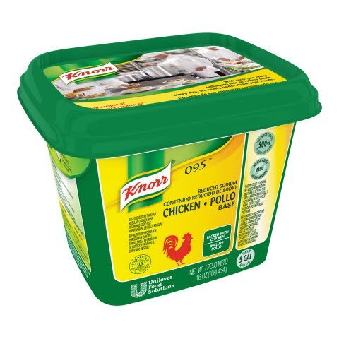 Knorr® 095 Chicken Reduced Sodium, Gluten Free - 10048001510163