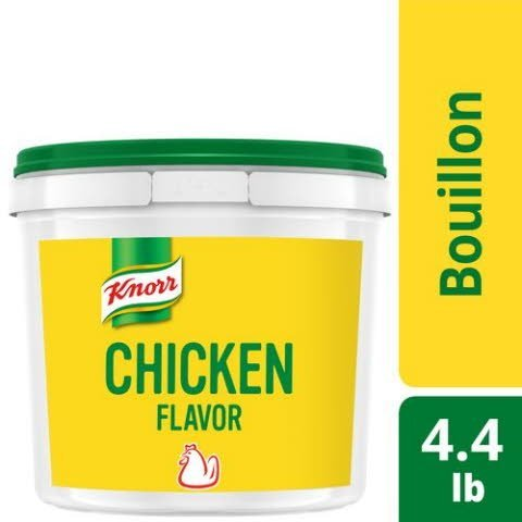 Knorr® Bouillon Chicken Caldo de Pollo 4.4 Pound, Pack of 4