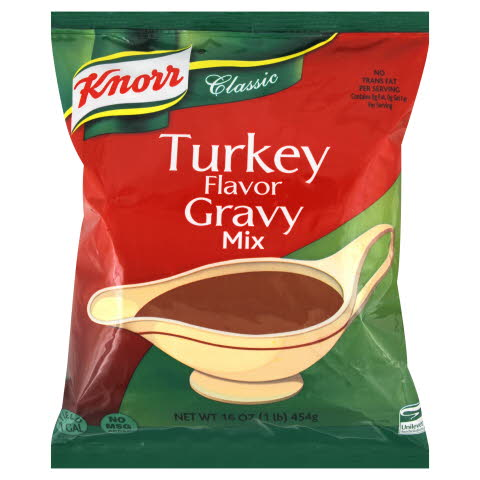 Knorr® Classic Classic Turkey Flavor Gravy Mix - 10048001916996