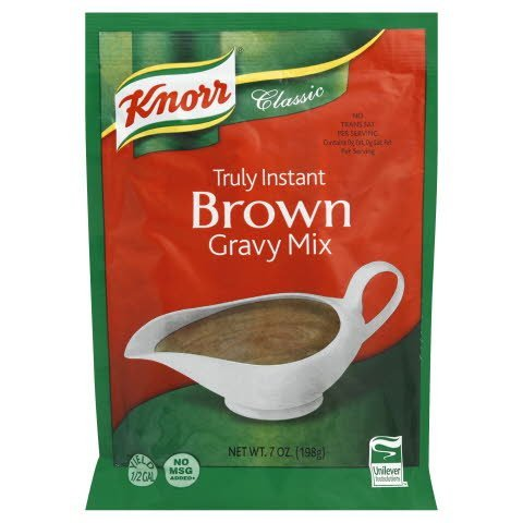 Knorr® Classic Instant Brown Gravy Mix - 10021500800126