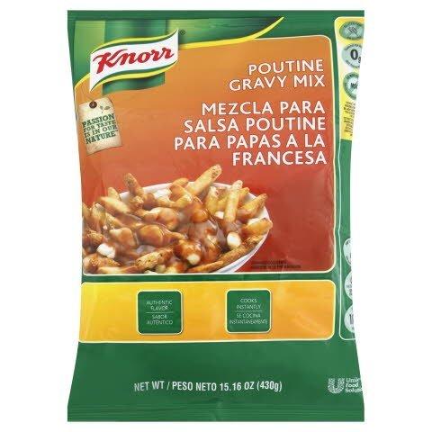Knorr® Gravy Mix Poutine 5.7 Pound