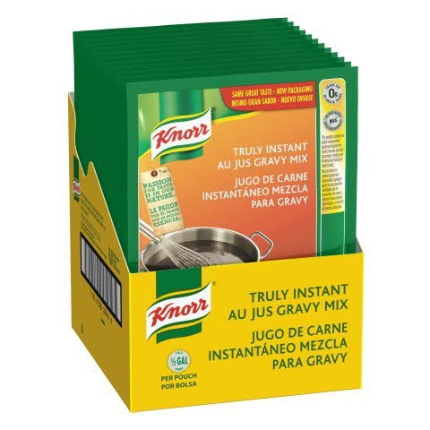 Knorr® Instant Sauce Mix Au Jus 3.7 ounces, 12 count -