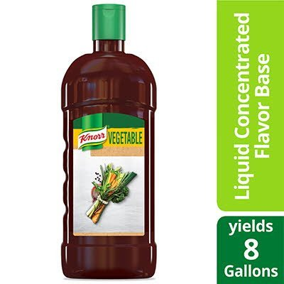Knorr® Liquid Concentrated Base Vegetable 32 ounces, Pack of 4 -