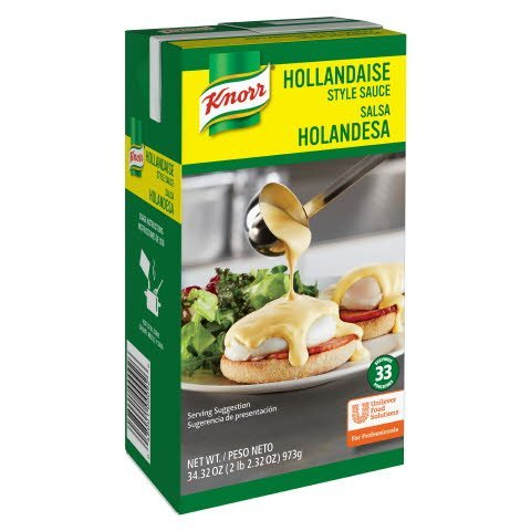 Knorr Liquid Sauce Hollandaise 34.32 oz, Pack of 6