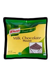 Knorr® Milk Chocolate Mousse 8.75 ounces, pack of 10 -