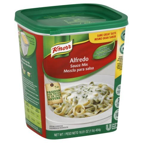 Knorr® Powder Mix Alfredo Sauce, 4 pound -