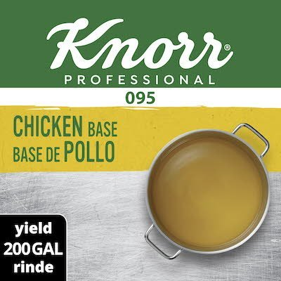Knorr® Professional 095 Chicken Base 1 x 40 lb -