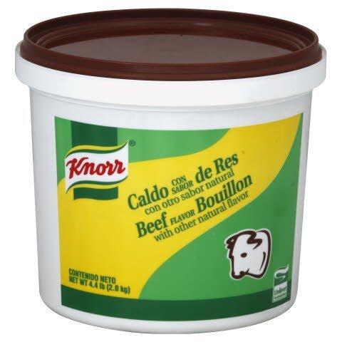 Knorr® Professional Caldo Con Sabor de Res 4.4 pound, 4 per case -