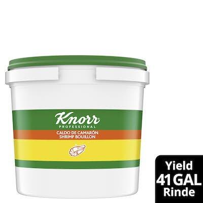Knorr® Professional Caldo de Camaron/Shrimp Bouillon 4 x 4.4 lb -