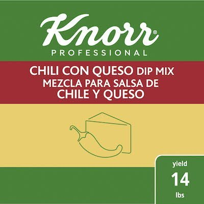 Knorr® Professional Chili Con Queso Dip Mix 6 x 1.06 lb -