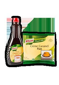 Knorr® Professional Creme Caramel Flan Mix 8 ounce, 6 per case -