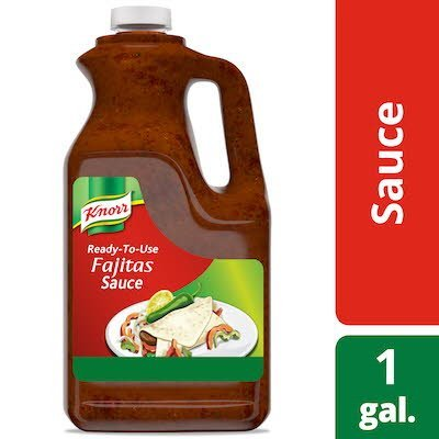 Knorr® Professional Fajitas Sauce with Lime 2 x 1 gal -