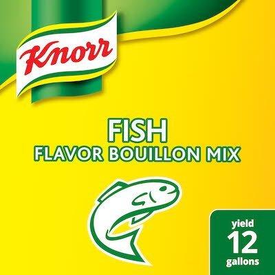 Knorr® Professional Fish Bouillon 6 x 1.99 lb -