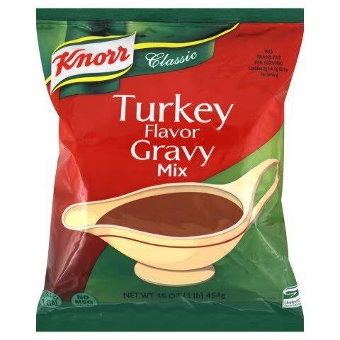 Knorr® Professional Instant Sauce Mix Turkey Flavor Gravy 1 pound, 6 count -