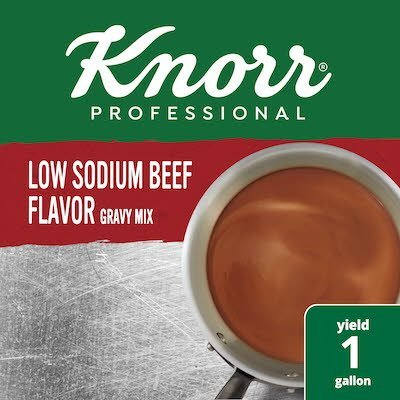 Knorr® Professional Low Sodium Beef Gravy 6 x 12.6 oz -
