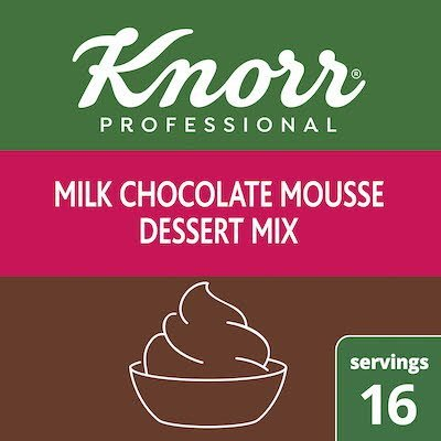 Knorr® Professional Milk Chocolate Mousse Mix 10 x 8.75 oz -