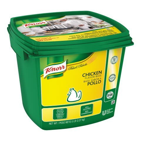 Knorr® Professional Select Chicken Bouillon Base 4 x 5 lb -