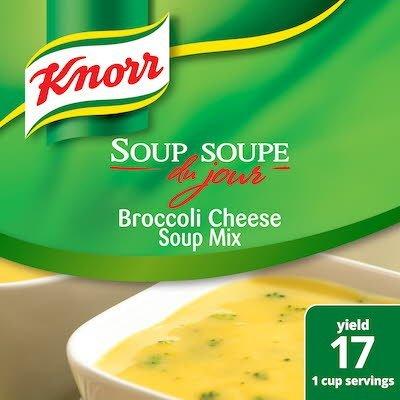 Knorr® Professional Soup du Jour Mix Broccoli Cheese 6 x 20.98 oz -