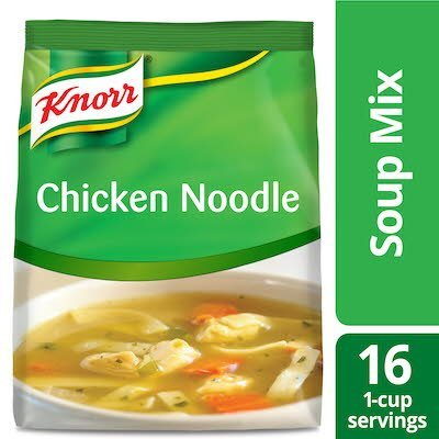Knorr® Professional Soup du Jour Mix Chicken Noodle 4 x 13.3 oz -
