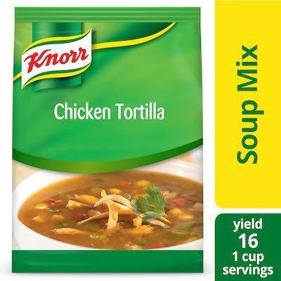Knorr® Professional Soup du Jour Mix Chicken Tortilla 4 x 14.4 oz -