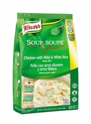 Knorr® Professional Soup du Jour Mix Chicken Wild & White Rice 4 x 30.2 oz -