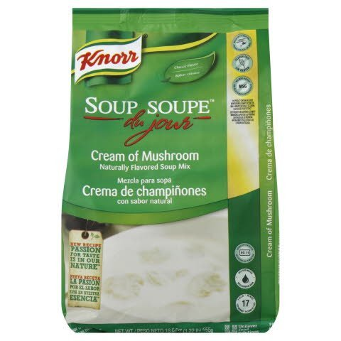 Knorr® Professional Soup du Jour Mix Cream of Mushroom 19.6 ounces, 4 count -