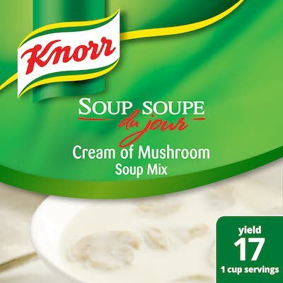 Knorr® Professional Soup du Jour Mix Cream of Mushroom 4 x 19.6 oz -