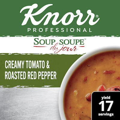 Knorr® Professional Soup du Jour Mix Creamy Tomato & Roasted Red Pepper 4 x 17.1 oz -
