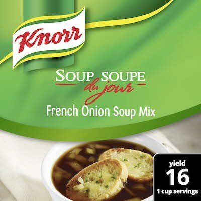 Knorr® Professional Soup du Jour Mix French Onion 4 x 12.9 oz -