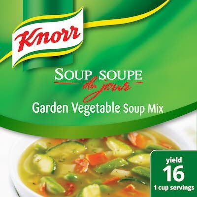 Knorr® Professional Soup du Jour Mix Garden Vegetable 4 x 8.7 oz -