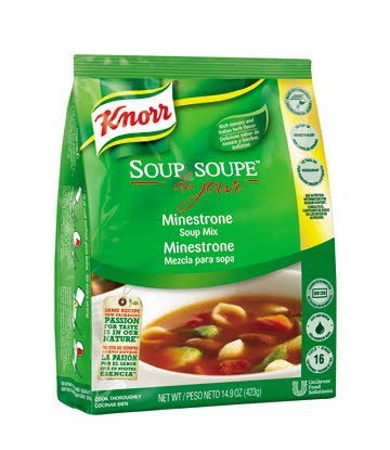 Knorr® Professional Soup du Jour Mix Minestrone 4 x 14.9 oz -