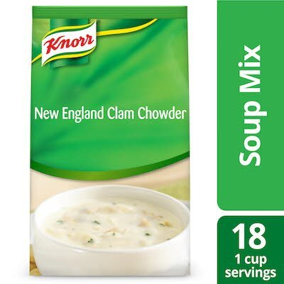 Knorr® Professional Soup du Jour Mix New England Clam Chowder 4x 27 oz -