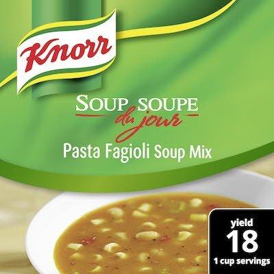Knorr® Professional Soup du Jour Mix Pasta Fagioli 4 x 30 oz -