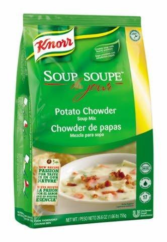 Knorr® Professional Soup du Jour Mix Potato Chowder 26.6 ounces, 4 count -
